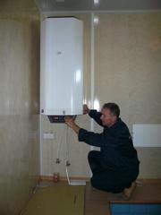 Установка,  подключение водонагревателя в Омске,  т.33-79-97.