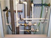 замена водопроводных труб в ванной и на кухне