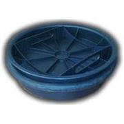 Крышка (дно) колодца 425 с уплотнительным кольцом