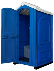 Мобильная туалетная кабина Евростандарт