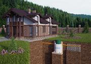 Септик,  автономная канализация для дома под ключ